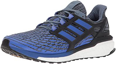 check out 64cfb 7e2b8 Adidas Performance Mens Energy Boost M Running Shoe, Raw SteelHi-Res Blue