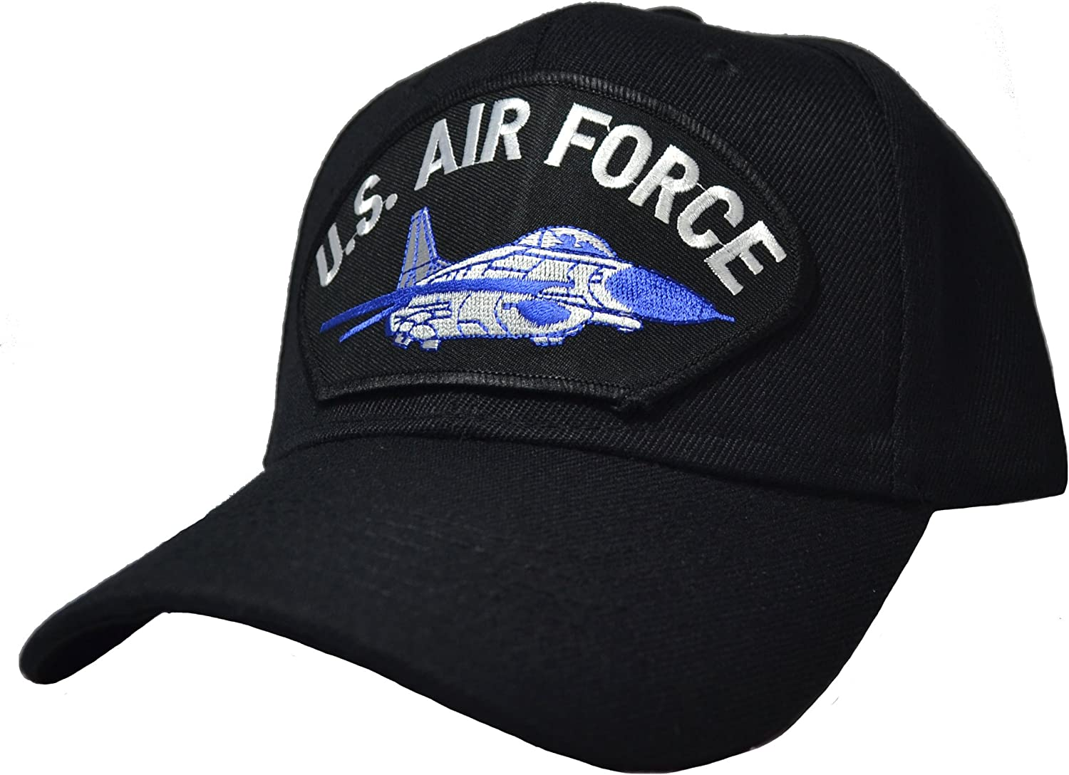 US Air Force Plane Ball Cap Black