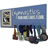 "RunningontheWall Gymnastics Equipment, Gymnast Gifts for Girls ""GYMNASTICS BEAM.VAULT.BARS.FLOOR."" Gymnastics Ribbon Holder, Gymnast Ribbon Holder"