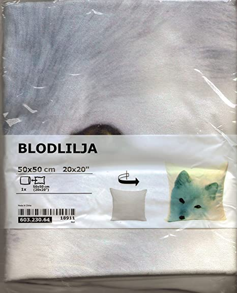 IKEA blodlilja 100% algodón terciopelo 20