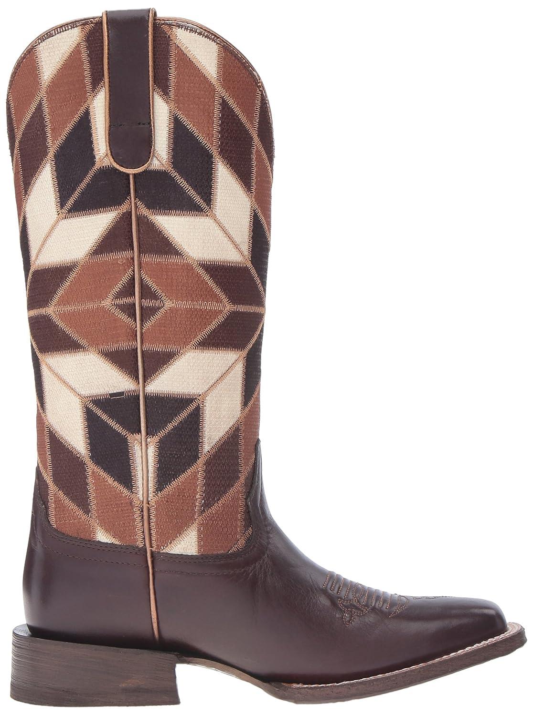 Ariat Women's B01BQV3VXO Mirada Western Cowboy Boot B01BQV3VXO Women's 8 B(M) US Bittersweet Chocolate/Shades of Brown b3bc20