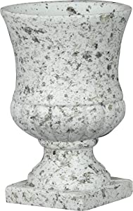 Classic Home and Garden 270000-518 Remus Urn Planter, Small 1-Pack, Granite