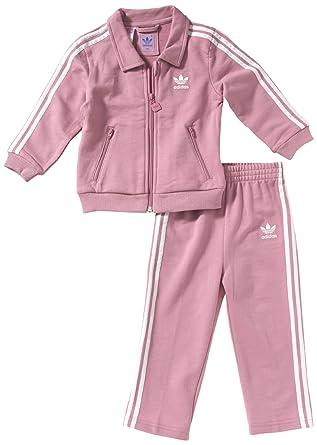 adidas - Chándal infantil, tamaño 86 UK, color top:shift rosa ...