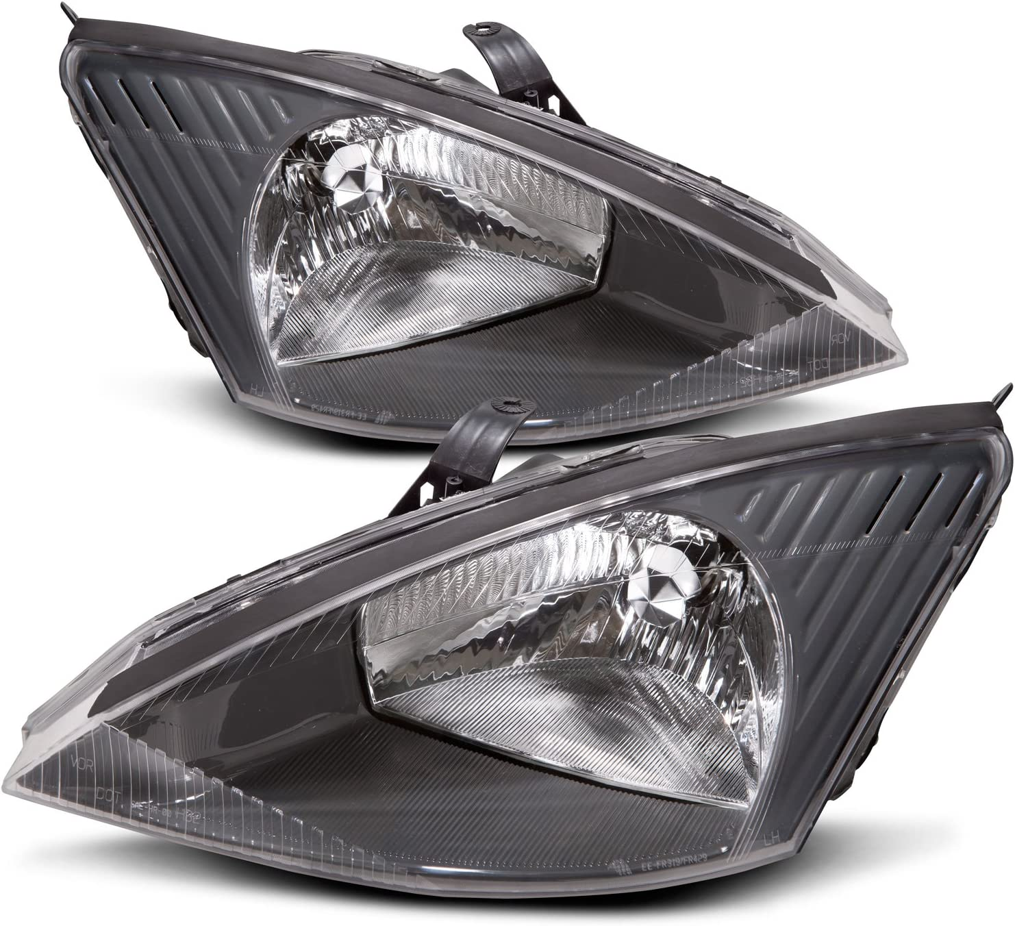 A-GRADE PAIR SET OF OEM FORD FOCUS 2012 2013 2014 HEADLIGHT ASSEMBLY