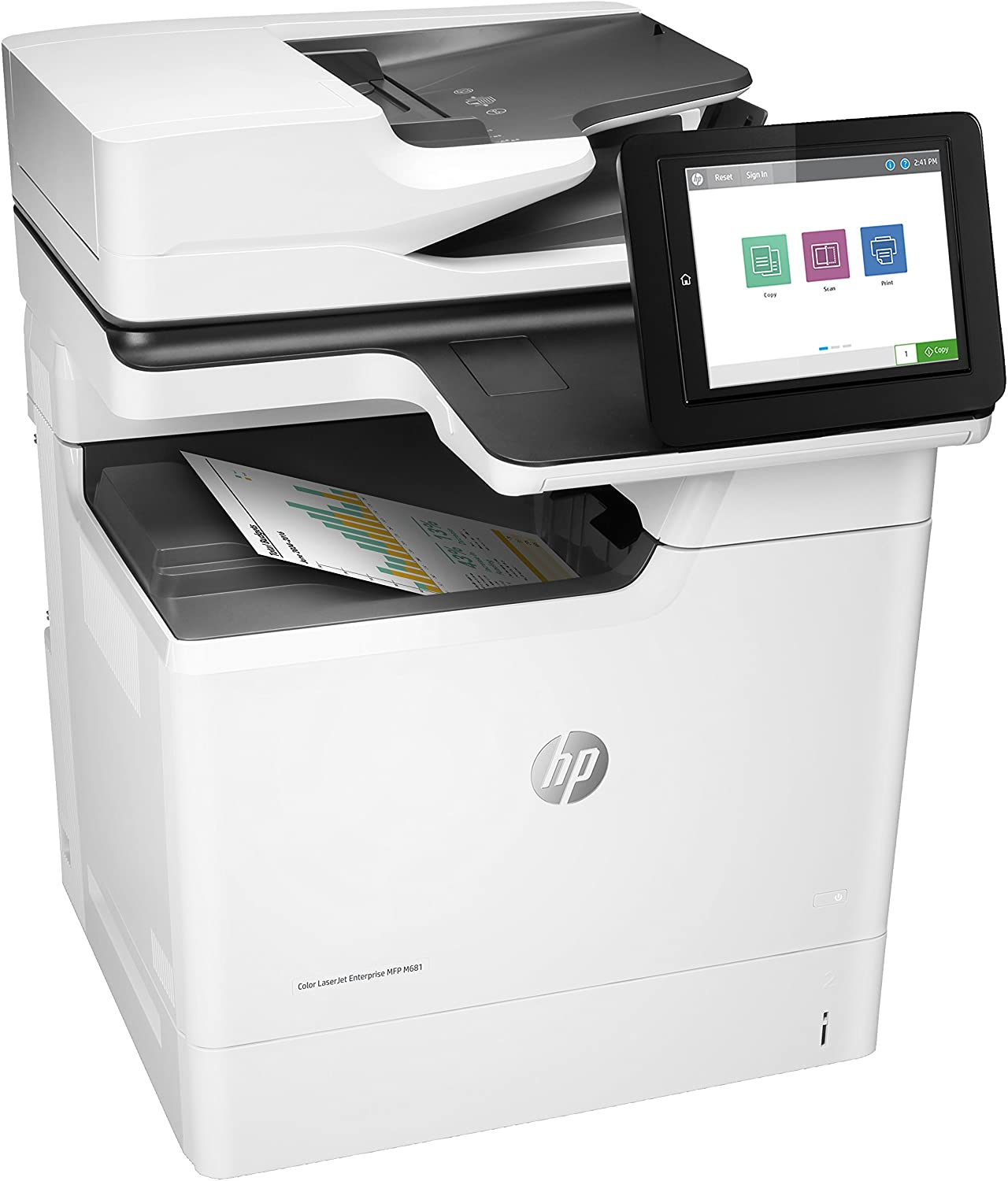 HP Color Laserjet Enterprise MFP M681dh 1200 x 1200DPI Laser ...