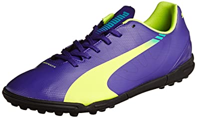 Puma Men s evoSPEED 5.3 TT Purple Football Boots - 12UK India (47EU ... db1045fb3