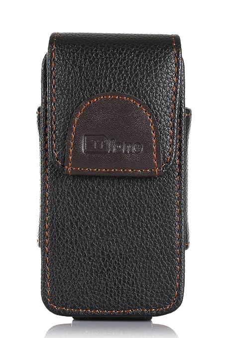 nuovo arrivo bbabd 3bb98 TTfone Premium Custodia per Cellulari Big Button Star (TT300) con Clip da  Cintura