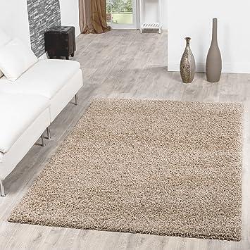 Beau Shaggy Teppich Hochflor Langflor Teppiche Wohnzimmer Preishammer Versch.  Farben, Größe:120x170 Cm,