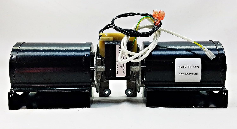 quadrafire stove fan room air blower fan pellet wood gas 812 4900 rh amazon com