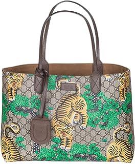1262ba3e8af Amazon.com  Gucci Women s GG Supreme BLOOMS Convertible Boston Bag ...