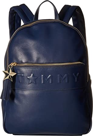 0d038f5ef81 Amazon.com | Tommy Hilfiger Women's Logo Story Backpack Tommy Navy One Size  | Casual Daypacks