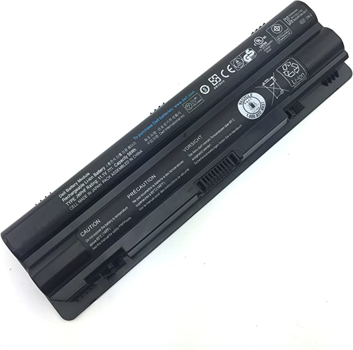 LQM 11.1V 56Wh New Laptop Battery for Dell XPS 14 15 17 L401x L501x L502x L521x L701X,Compatible P/N:312-1127 J70W7 R795X JWPHF