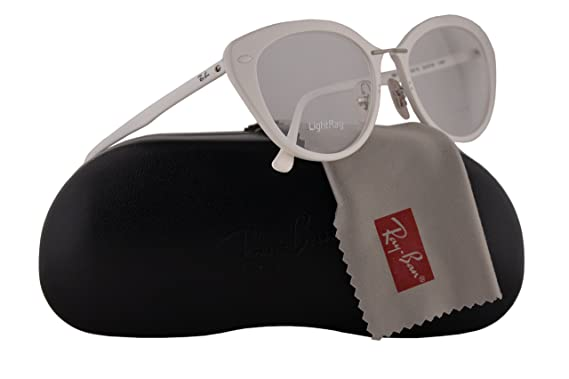 455bcc875f Ray-Ban RX7088 Eyeglasses 54-18-140 White w Demo Clear Lens 5618 RB7088 RB 7088  RX 7088  Amazon.co.uk  Clothing