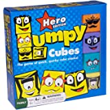 Lumpy Cubes Family Board Game - Quick Stacking Fun for All Ages, Kids and Adults 6 Years and Up