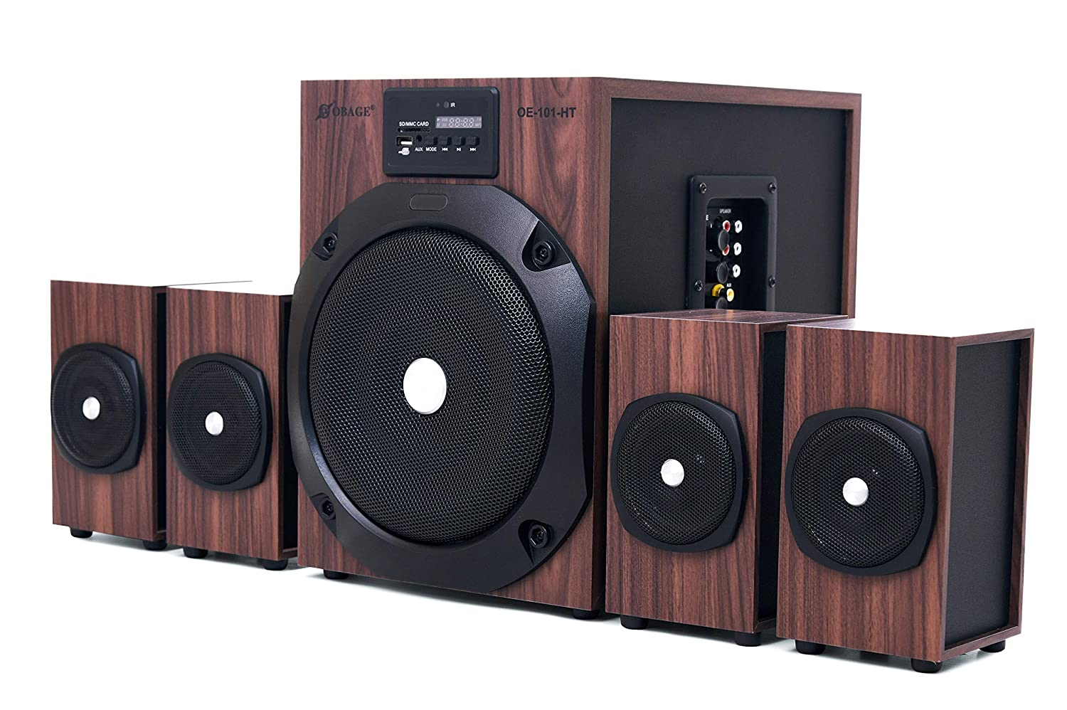OBAGE 4.1 HT-101 Woody Version Home Theater Bluetooth System