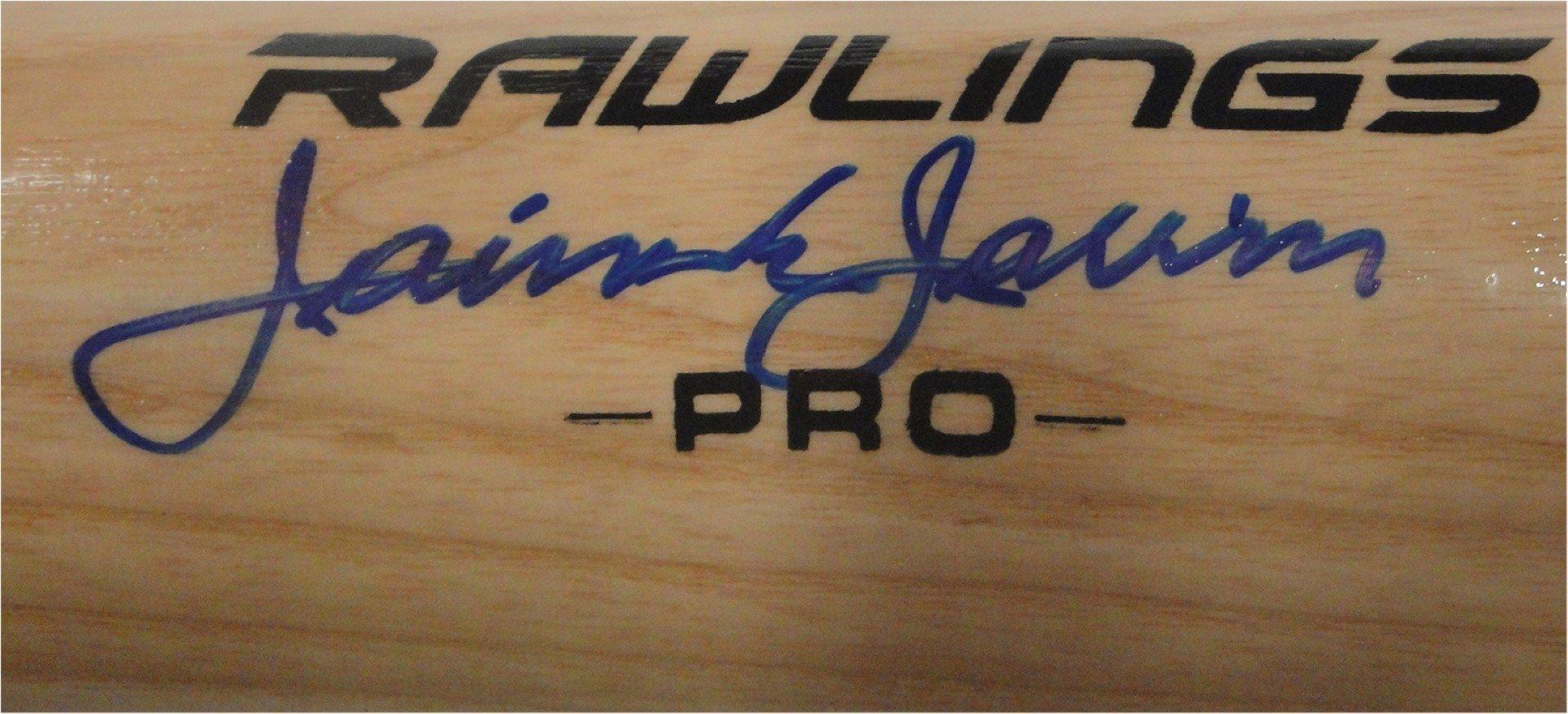 Jaime Jarrin Hand Signed Autographed Baseball Bat Los Angeles Dodgers PSA/DNA