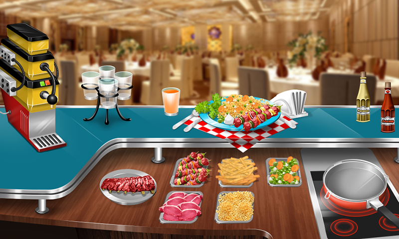 Amazoncom Cooking Stand Restaurant Game Appstore For Android - Restaurant table games