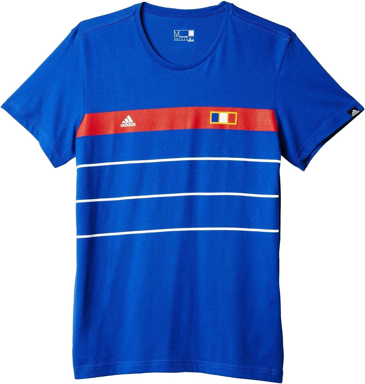 adidas France History Camiseta, Hombre: Amazon.es: Ropa y accesorios