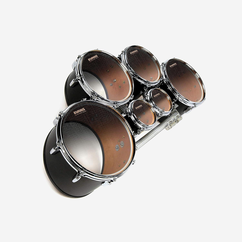 TT08SB1 8 Inch Evans System Blue SST Marching Tenor Drum Head