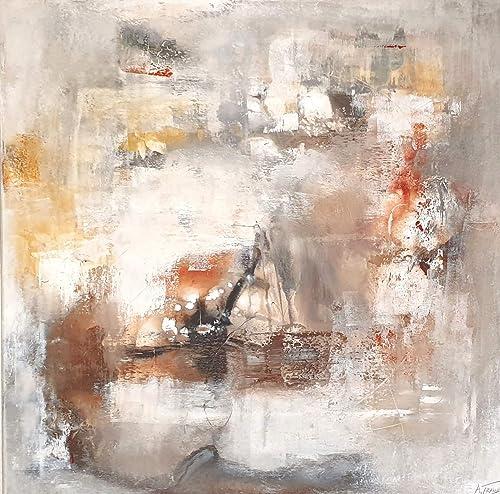 80x80cm Malerei Acryl Auf Leinwand Moderne Abstrakte Kunst