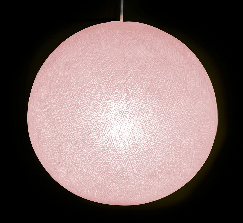 Auténticas Lámparas De Techo Cable & Cotton® con Bola En Color Rosa Palo - con Una Esfera De 31 Cm De Diámetro Que Iluminará Su Hogar