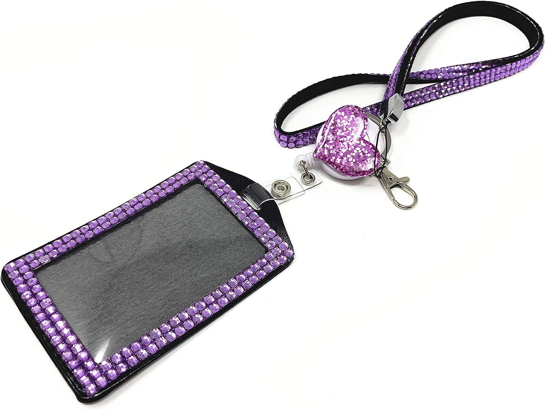 Badge Reel Holo purple sparkle