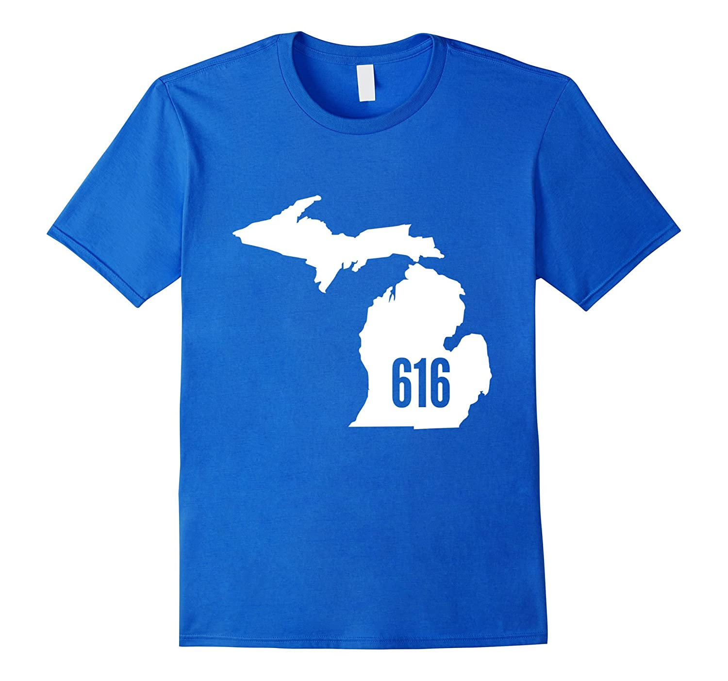 616 michigan state outline pride area code t shirt for 6016 area code