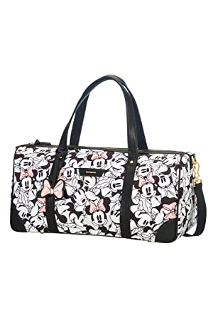 chaussures de sport b4b07 e6eca SAMSONITE Disney Forever - Duffle Travel Duffle, 52 cm, 32 liters,  Multicolour (Minnie Pastel)