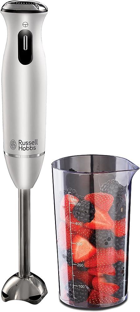 Russell Hobbs 21501 56 Aura Mixeur Plongeant Blanc 0,5 L 600 W