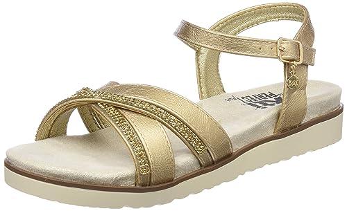 3c42663424e XTI Women s 47664 Ankle Strap Sandals  Amazon.co.uk  Shoes   Bags