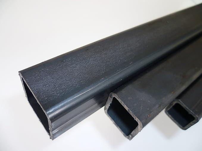 Quadratrohr Stahlrohr Hohlprofil Vierkantrohr 1250mm L/änge 30x30x2