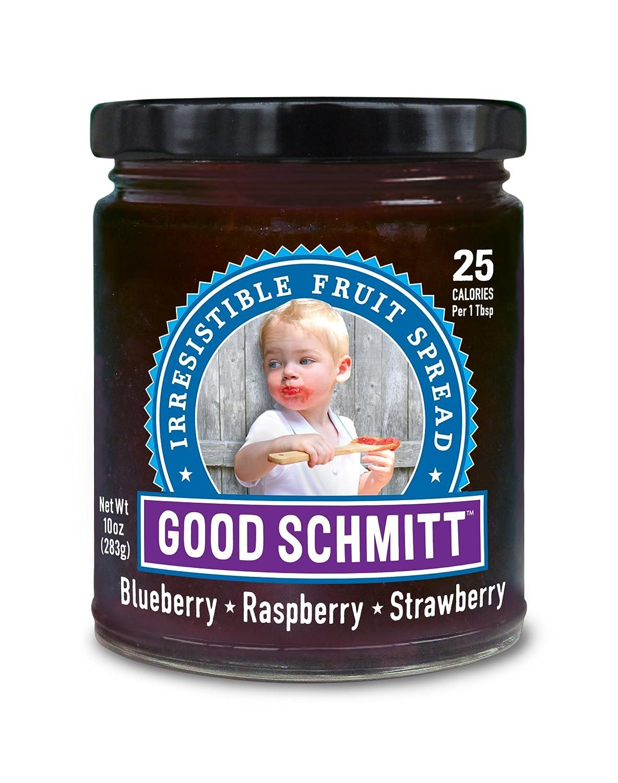 Amazon.com : Good Schmitt - Blueberry•Raspberry•Strawberry : Grocery ...