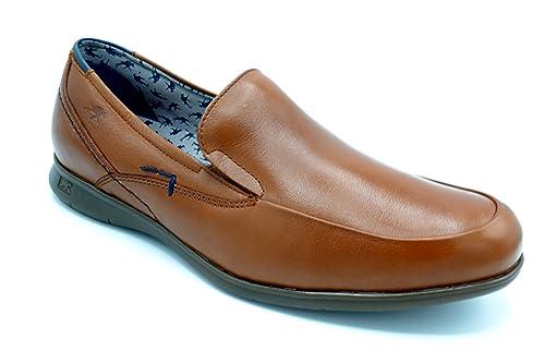 Fluchos 9762 Vacheta Cuero - Zapato de Verano sin Cordones, Plantilla Extraible. (41