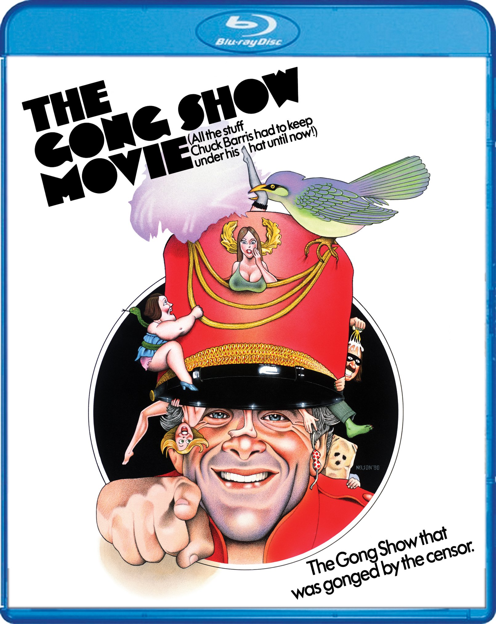 Blu-ray : The Gong Show Movie (Widescreen)