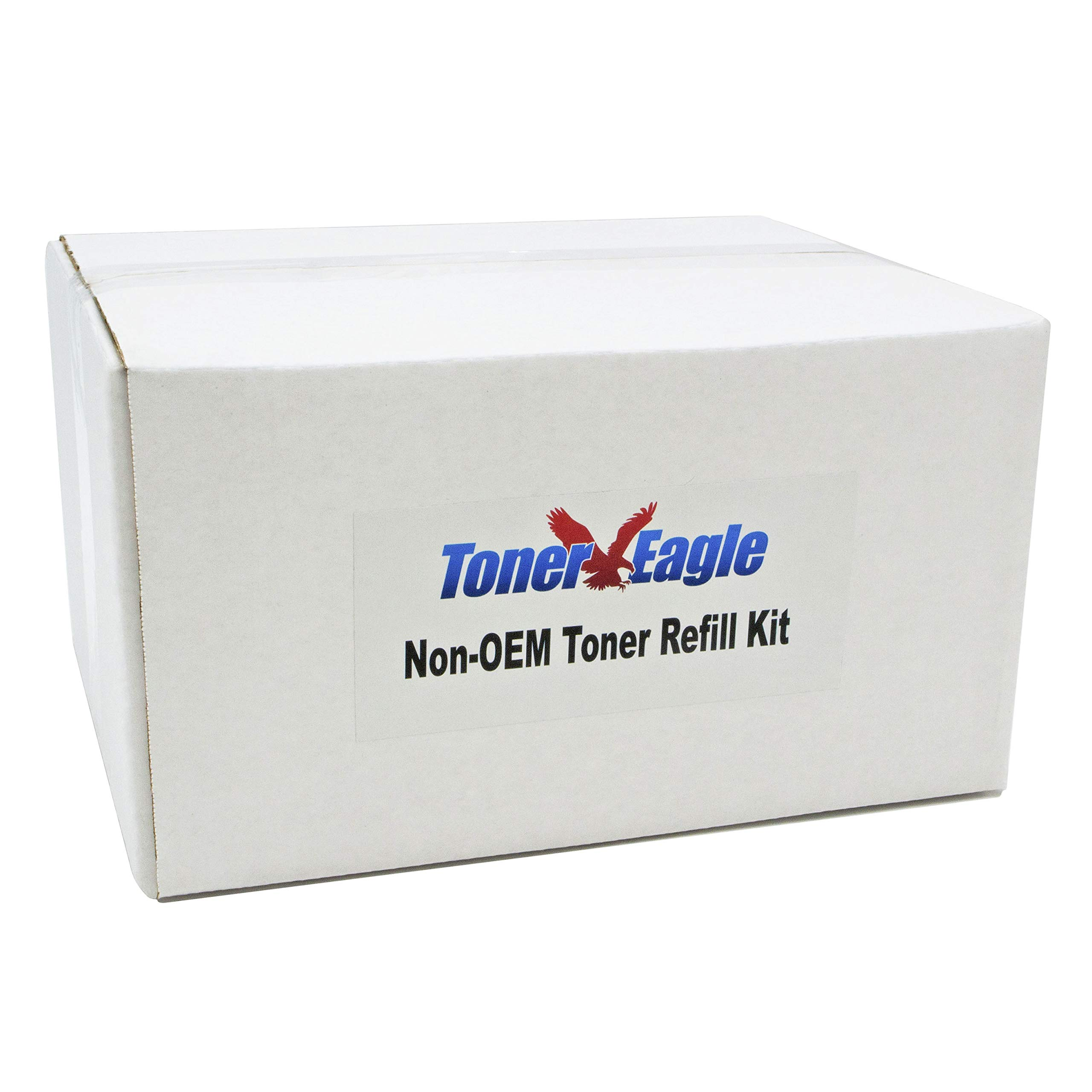 Toner Eagle Toner Refill Kits with Chips. [4-Color Set], Compatible with Xerox Phaser 6125 6125N