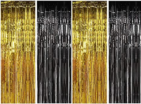 5 foot Beer Me tassel garland black white metallic gold baby shower bridal shower birthday party banner photo booth backdrop