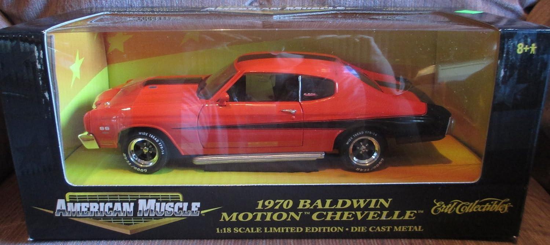 ERTL 1970 70 CHEVROLET CHEVELLE BALDWIN MOTION SLAPPER TRACTION BARS