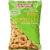 Krack O Pop Baked Chips | Family Size Sour Cream Onion Rings Snacks 120G