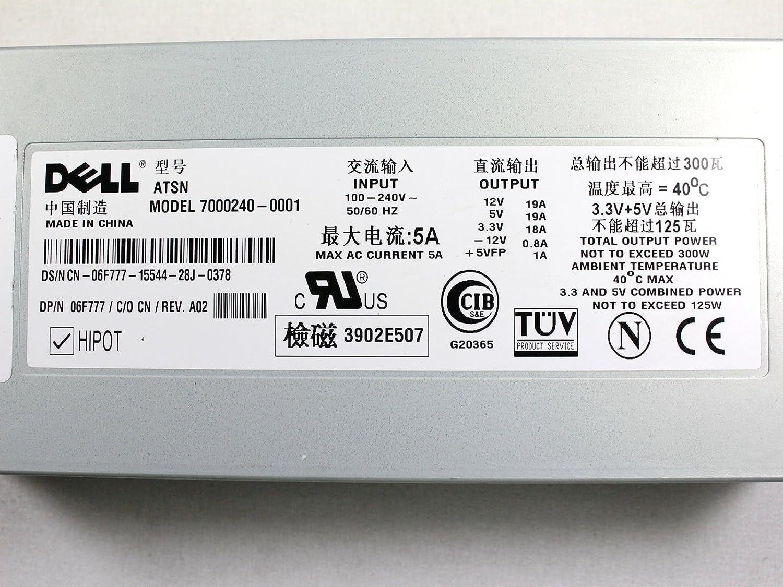 CN-06F777 Dell 300watt Power Supply For Poweredge 2500//4600