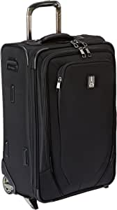 Travelpro Crew 10-Softside Expandable Rollaboard Luggage, Black, Carry-On 22-Inch