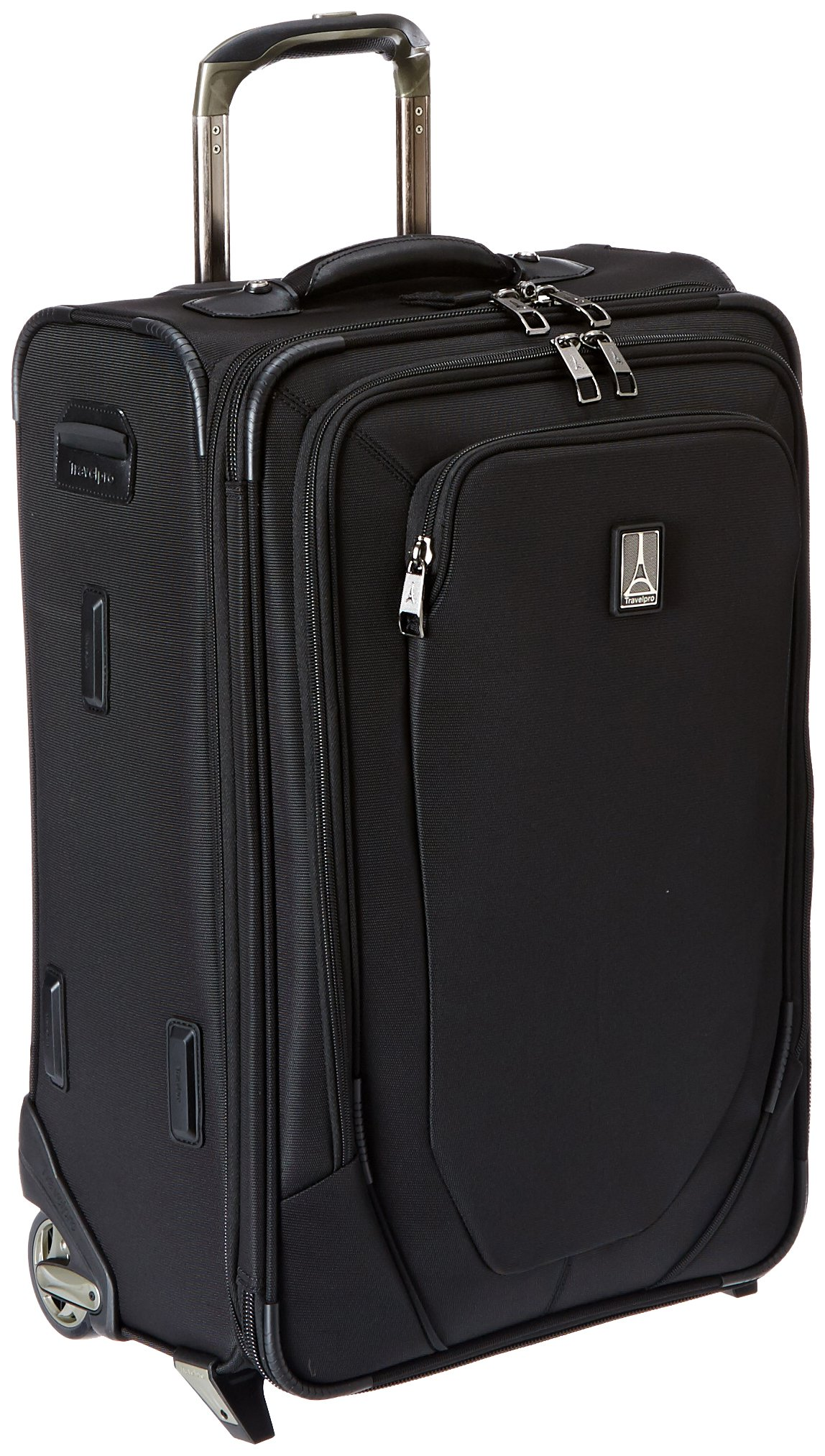 Travelpro Crew 10 22 Inch Expandable Rollaboard Suiter, Black, One Size