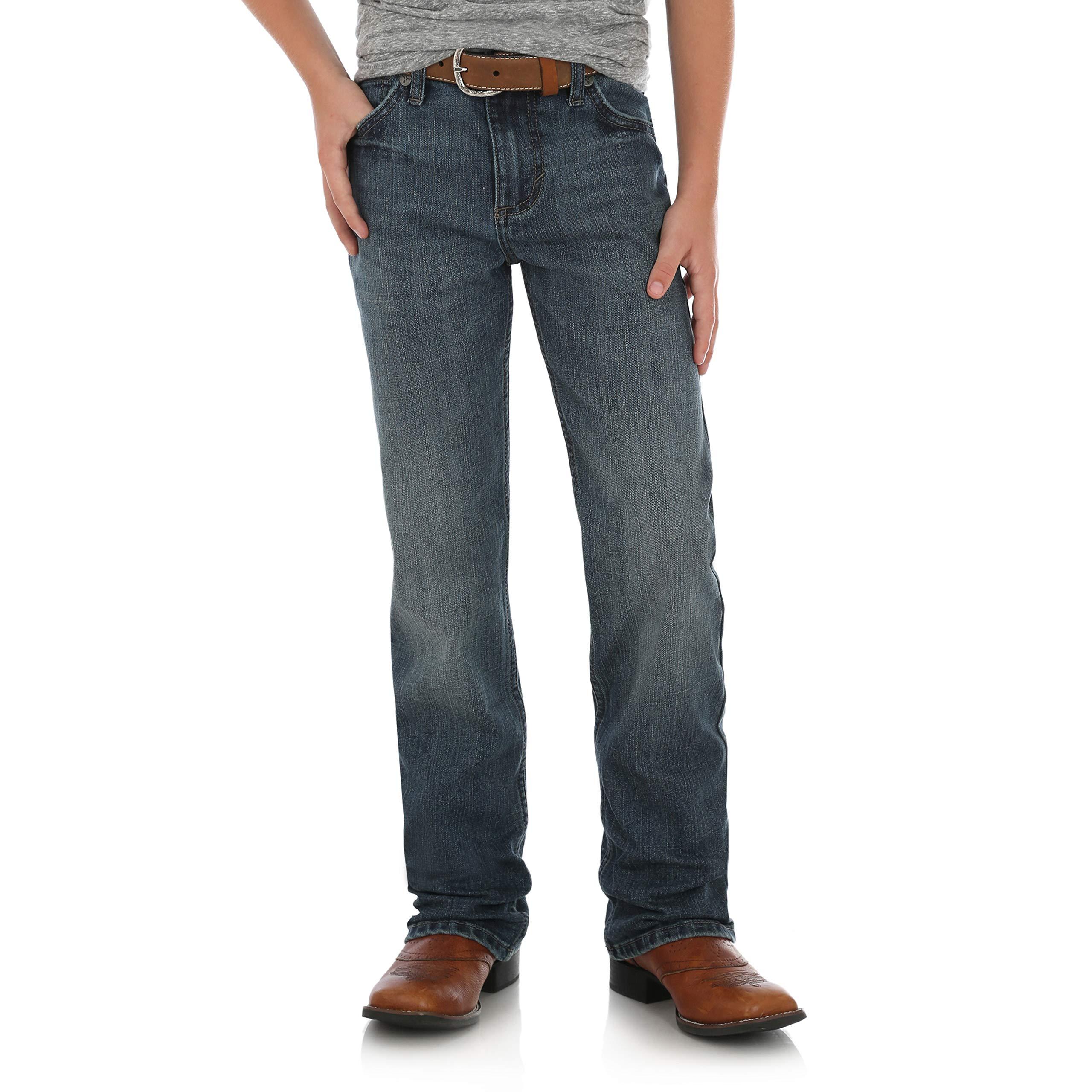 Wrangler Boys' 20x Slim Fit Straight Leg Jean