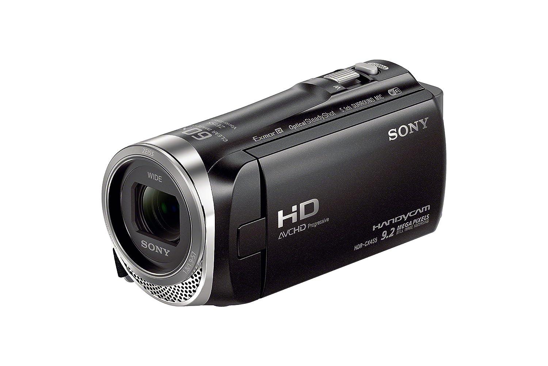 Sony HDRCX455/B Full HD 8GB Camcorder (Black) by Sony   B01950TERA