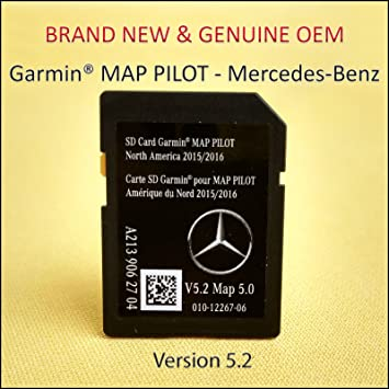 GARMIN map pilot Tarjeta SD de navegación 2018 North America Mercedes-Benz A2139062704