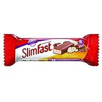 SlimFast Nutty Nougat Snack Bar, 24 x 26 g