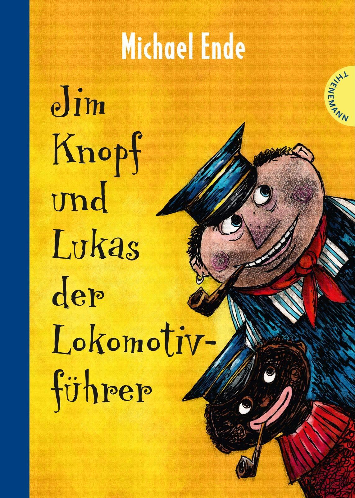 Jim Knopf Und Lukas Der Lokomotivfuhrer Kolorierte Neuausgabe Amazon De Ende Michael Tripp F J Weber Mathias Bucher