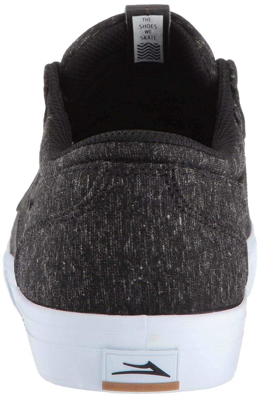 Lakai Griffin Skate Shoe B01N5OW8UQ 6.5 M US|Black Textile