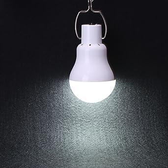 KK.BOL Lámpara De Led portátil Batería Solar luz bombilla para ...
