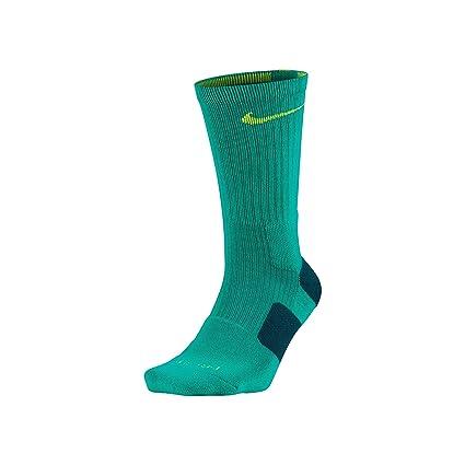 cheap sale casual shoes affordable price Chaussettes Nike Basketball Dri-Fit Elite Crew Bleu sarcelle ...