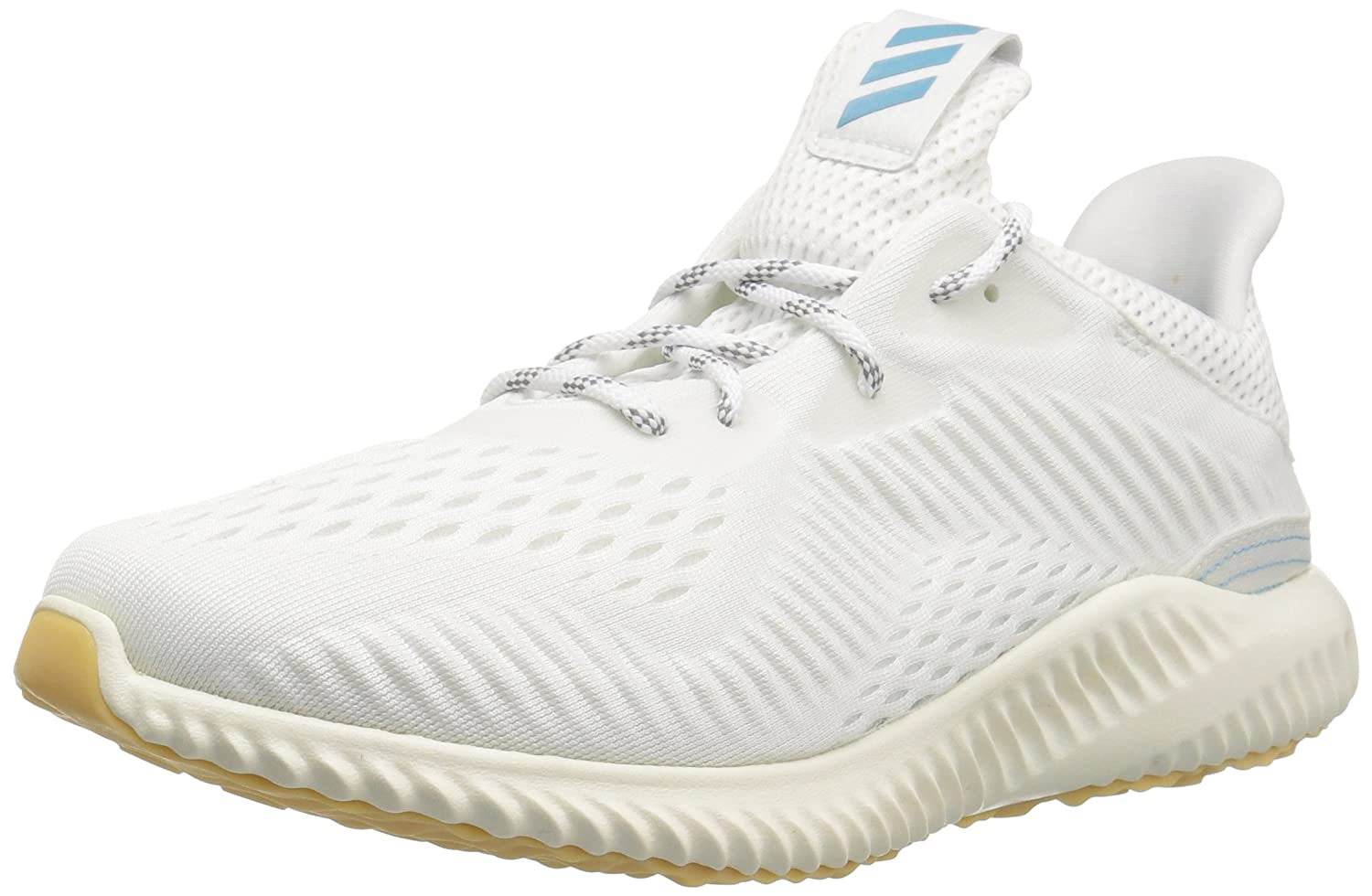 adidas Women's Alphabounce 1 Parley W Running Shoe B071Z73FFV 8 B(M) US|Noble Indigo/Vapour Blue/White